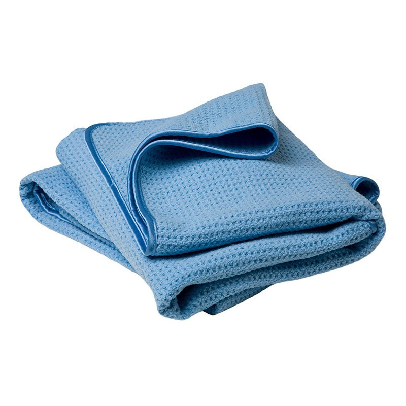 "DRYING ""Scratchless"" Blue WONDER Towel"