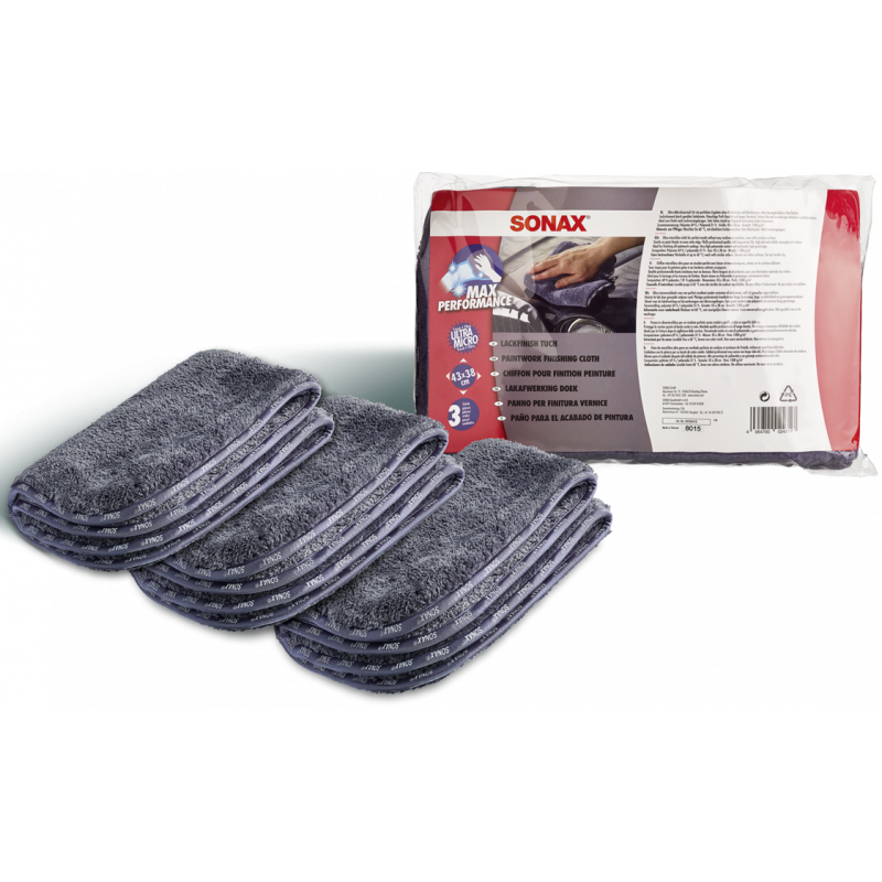 SONAX Paintwork Finishing Cloth (3 pic.)