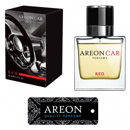 Areon Car Luxury Perfume Red 50ml